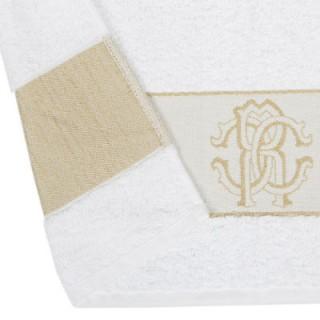 Набор полотенец Roberto Cavalli - 1araldico-towel-white-012-do1.jpg