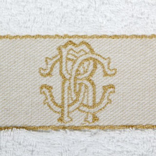 Набор полотенец Roberto Cavalli - 1araldico-towel-white-012-dop.jpg