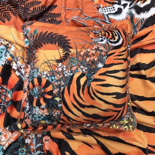 "Плед HERMES ""TIGER"" -"