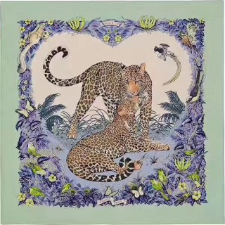 "Плед HERMES ""JUNGLE LOVE"" -"