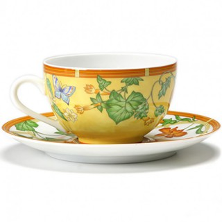 "Чашка чайная с блюдцем HERMES ""SIESTA"" -"