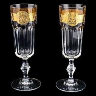 Бокалы VERSACE для шампанского 2 шт -