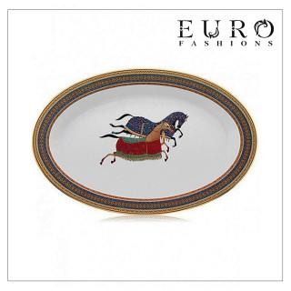 Блюдо Hermes Cheval d'Orient 36 см (6401) овальное -