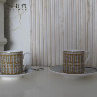 Набор кофейных пар 120 мл Hermes Mosaique au 24 (9801) -