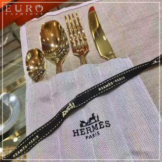 Набор столовых приборов Hermes Gold (4 предмета) 8312 -