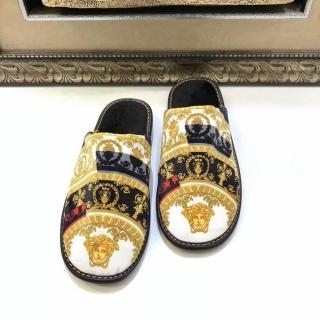 Мужские домашние тапочки Versace 9718 -