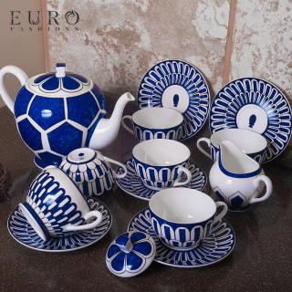 Чайный сервиз Hermes Bleus d'Ailleurs на 6 персон -