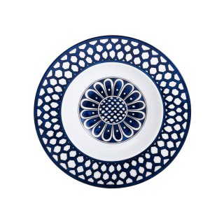 Тарелка суповая Hermes Bleus d'Ailleurs 21 см -