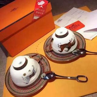 Набор чайных пар Hermes Cheval d'Orient 230 мл (6427) -