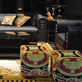 Пуф Versace Carre (разные расцветки) -