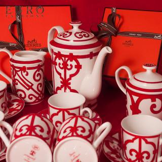 Чайный сервиз Hermes Balcon du Guadalquivir 6 персон, 170 мл (7128) -