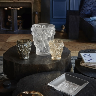 Ваза Lalique Bacchantes Бронзовая -
