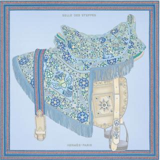 Шёлковый платок Hermes (11739) -
