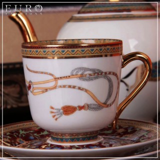 Кофейный сервиз HERMES CHEVAL D'ORIENT -