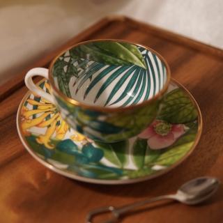 Набор чайных пар Hermes Passifolia 150 мл (10444) -