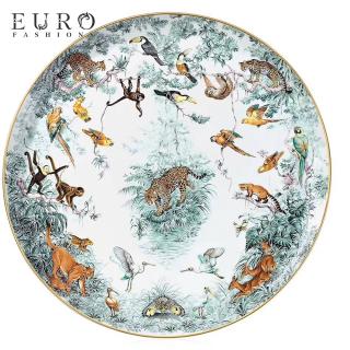 Блюдо круглое Hermes  Carnets d'Equateur 31 см (8244) -