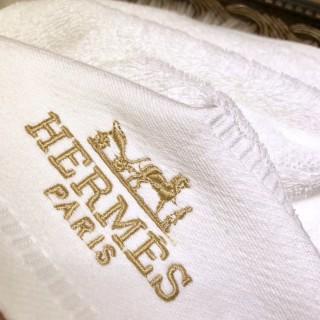 Набор полотенец Hermes (8444) белые -