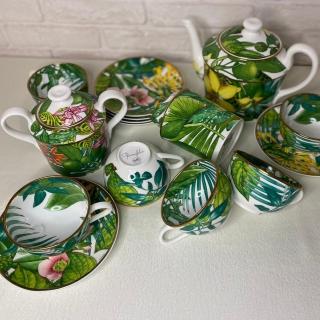 Чайный сервиз Hermes Passifolia 6 персон (10746) -