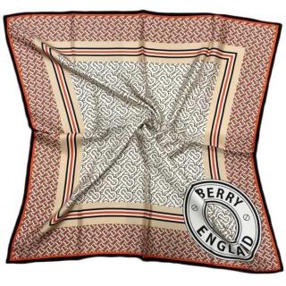 Шелковый платок Burberry (11646) -