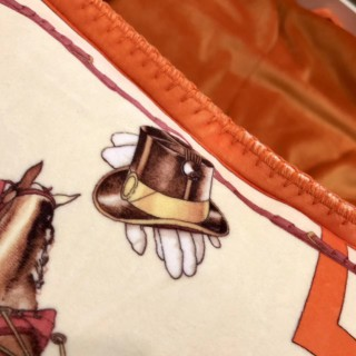Плед Hermes Horses 8446 -
