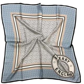 Шелковый платок Burberry (11647) -