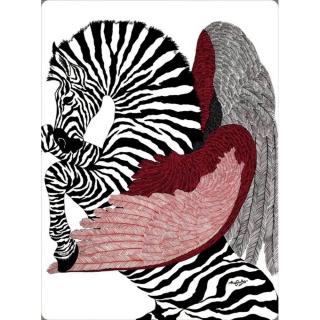 Плед Hermes Zebra (8447) -