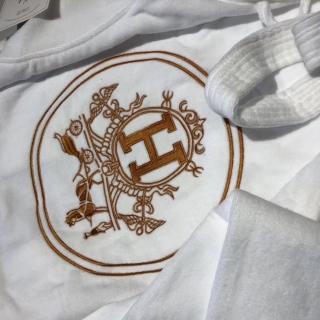 Махровый халат Hermes -
