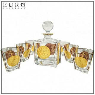 Набор BOHEMIA VERSACE для виски (7 предметов) -
