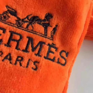 Махровый халат Hermes, оранжевый -