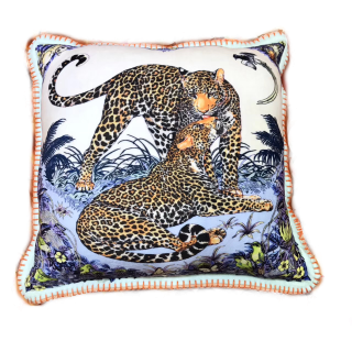 "Подушка Hermes ""JUNGLE LOVE"" -"