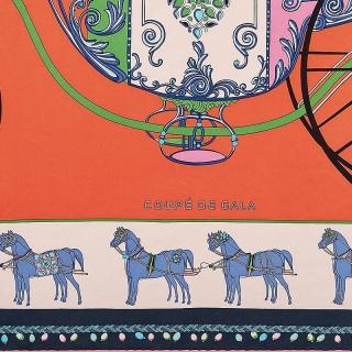 Платок Hermes Coupe de Gala (9456) -