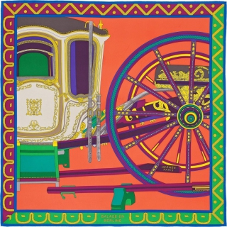 Платок Hermes Coupe de Gala (9457) -