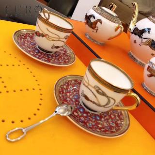 Кофейный набор Hermes Cheval d'Orient 2 персоны -