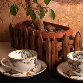 """Чайный сервиз HERMES """"CARNETS D'EQUATEUR"""" 6 персон -"""