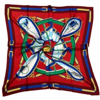 Шёлковый платок Hermes 11663 -