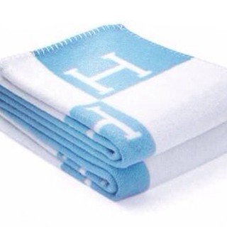 Плед Hermes baby blue - mmexport1398937873337.jpg