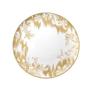 "Обеденная тарелка HERMES ""VOYAGE EN IKAT"" 25.5 см -"