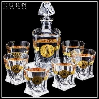 Набор Versace для виски (7 предметов) -