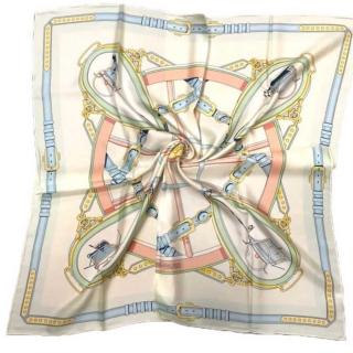 Шёлковый платок Hermes 11665 -