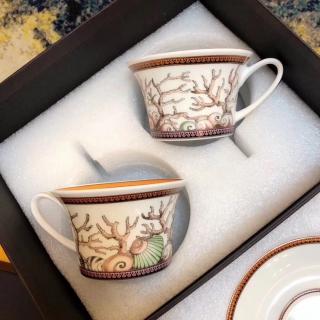 Набор чайных пар Versace Les Etoiles De La Mer 220 мл (9469) -