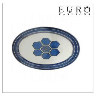 Блюдо Hermes Bleus d'Ailleurs 36 см -