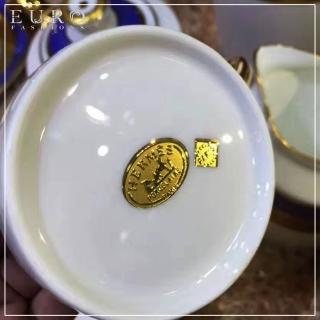 Чайный сервиз из костяного императорского фарфора -
