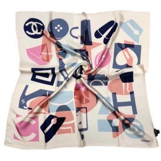 Шёлковый платок Chanel 11673 -