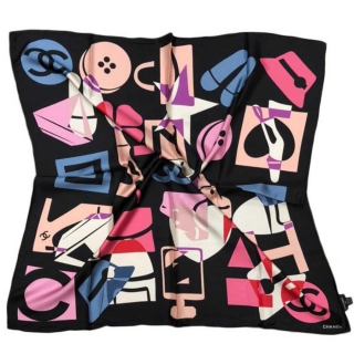 Шёлковый платок Chanel 11674 -