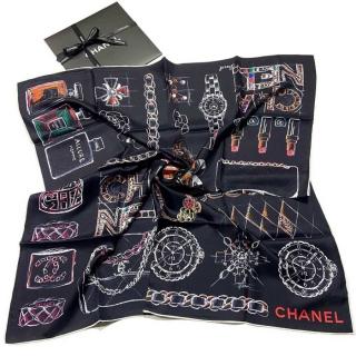Шёлковый платок Chanel 11676 -