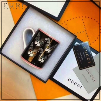 Кружка GUCCI FOUR CATS BLACK