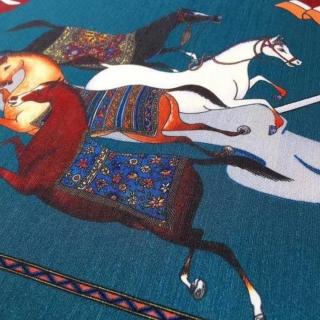 Скатерть Hermes Cheval d' Orient (11688) -