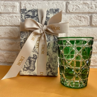 Зеленый стакан Dior (11694) -
