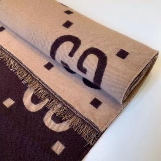 Теплый шарф Gucci -