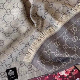 Теплый платок Gucci (9495) -